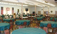 Inside the American Legion Hall
