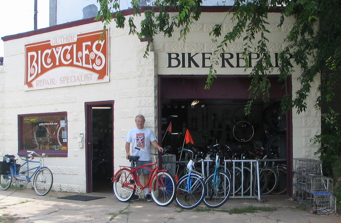 Guthrie Bicycle Shop