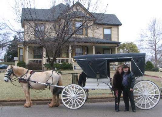 Carriage at the Seely House