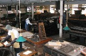 Inside the State Capital Printing Museum